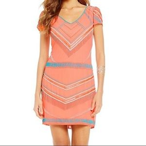Gianni Bini Social Dress Cole Warm Beaded Dress